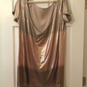 Free People Drenched in Sequins dress